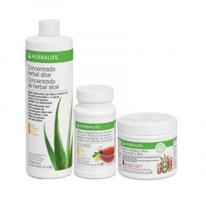 Pack Aloe, Fibra y Té Herbalife